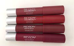 Revlon Matte Balm 225, 250, 265 and 270