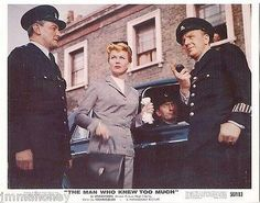 DORIS DAY LONDON Vintage THE MAN WHO KNEW TOO MUCH ALFRED HITCHCOCK color PHOTO