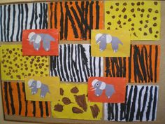 pelages animaux africains
