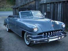 Restored Cruiser: 1952 DeSoto Custom convertible