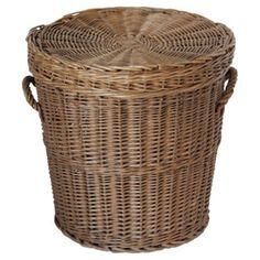 Check out this item at One Kings Lane! Wicker Hamper Basket https://www.onekingslane.com/shop/debra-hall-lifestyle