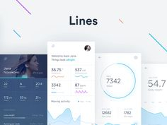 Health tracking app case study by Jakub Antalík