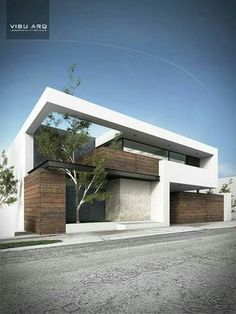 House modern exterior architecture beautiful Ideas for 2019 Modern Architecture House, Facade Architecture, Modern House Design, Amazing Architecture, Landscape Architecture, Villa Design, Facade Design, Exterior Design, Facade House