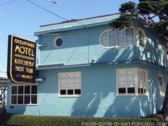 ocean park motel, ocean beach, san francisco