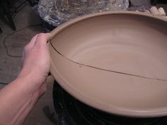 Thrown, cut and assembled oblong