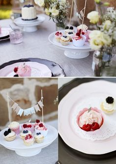 pretty wedding cakes, image by Stennie Photography