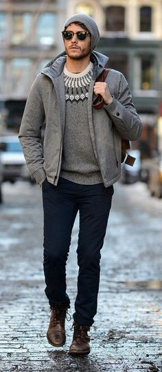 28827b29677d6 4 different types of sweaters you can experiment with this winter. Man  Fashion
