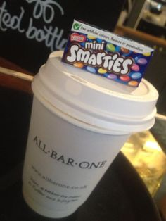 Make your commute to work a little warmer with a hot drink to take away. Find your nearest All Bar One.