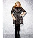 Gemma Collins Lace Skater Dress | Simply Be