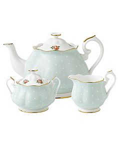 Royal Albert Serveware, Old Country Roses Vintage & Polka Rose Tea Collection - Fine China - Dining & Entertaining - Macy's