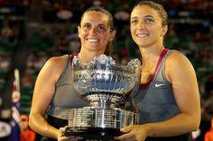 Roberta Vinci and Sara Errani, 2014 Australian Open