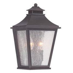 Acclaim Lighting Chapel Hill 7.5 in. Outdoor Wall Mount Lantern Light Fixture - 32003ABZ