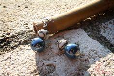 #blu #orecchini