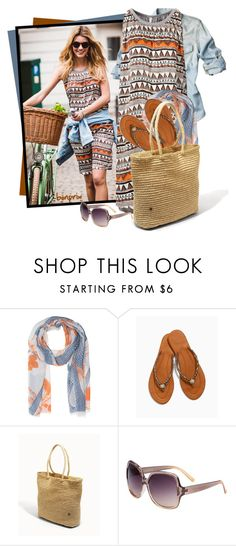 """""""Soma Flora Bella York Large Crochet Tote"""" by tasha1973 ❤ liked on Polyvore featuring Friendly Hunting and Soma"""