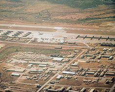 Pleiku Air Base built by USAF Red Horse a Combat Engineers and US Army Combat Engineers in 1966