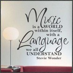 Language of Music