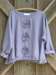 made in Italy ❤ T-Shirt Strass Roller Hippie retro romantik  36 38 40 S M L ROSA