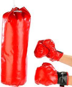 Playtastic Box-Set f�r Kinder: Sandsack & Box-Handschuhe