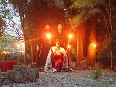 The Rite of Her Sacred Fires - Honouring the Goddess Hekate by HekateCovenant, via Flickr #wicca #ritual