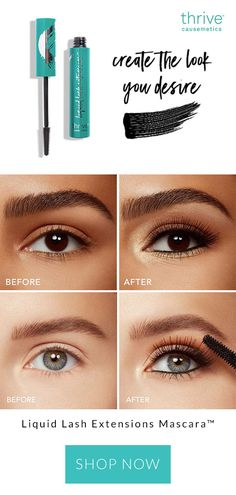 Get the coveted look of lash extensions with the ease of a mascara using our highly-anticipated Liquid Lash Extensions Mascara. - June 29 2019 at Makeup Tips, Beauty Makeup, Eye Makeup, Hair Beauty, Makeup Videos, Women's Beauty, Asian Makeup, Korean Makeup, Makeup Brands