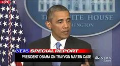 READ AND WATCH: President #Obama addresses the #TrayvonMartin case #racialprofiling #blackfolk