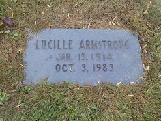 In Memoriam - Gravesites of the Famous and Infamous: Louis Armstrong