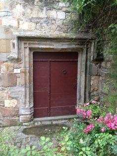 intriguing door in Cordes Cur Ceil, France