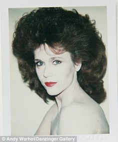 Jane Fonda: #1 Warhol's Celebrity Portrait
