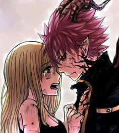 WHY IS THIS SO DEPRESSING!?!?!?!?!!?!?!?!? Poor lucy, when she finds out about natsu being END