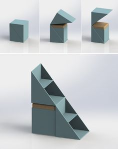 DU KU BU, multifunctional children oriented furniture can be used as a seat, storage space or stand on it to reach things that are stored higher up.