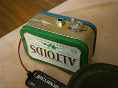 How to Build Your Own Mini Altoids Guitar Amp for About $5 « Mad Science