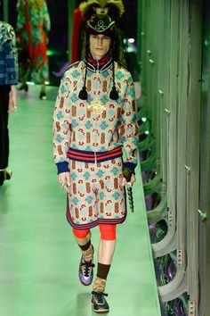 Gucci Fall 2017 Ready-to-Wear Fashion Show - Jack Chambers