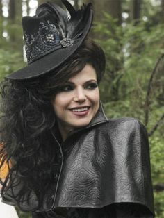 Regina from Once Upon a Time. I think I want to cosplay this outfit. I've always been in love with this one!