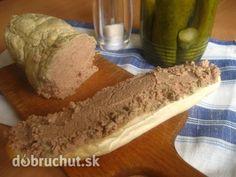 Fotorecept: Falošná husacia paštéta Bread, Homemade, Food, Recipes, Home Made, Brot, Essen, Baking, Meals