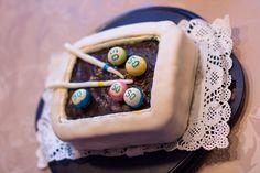 Billardtisch-Torte