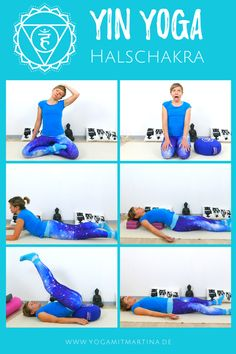 Yin Yoga für das Halschakra – Vishudda – Famous Last Words Yoga Nidra, Vinyasa Yoga, Yoga Positionen, Ashtanga Yoga, Yoga Sequences, Yoga Flow, Yoga Poses, Men Yoga, Iyengar Yoga