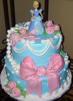 cinderella cakes birthday cakes cinderella cake two tier cake with