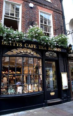 Betty's Tea Room in York, England | by lucydodsworth