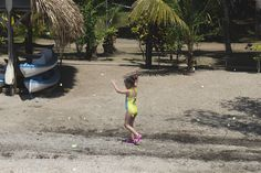 The Running of the Butterflies.  Denny's Beach, Rio Dulce, Guatemala.  | mjsailing.com | sailing blog