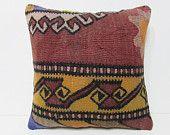20x20 kilim pillow egyptian 50x50 decorative pillow 20x20 pillowcase throw pillow couch tribal home decor shabby chic cushion pillows 26662
