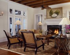 Safari Destination Decor Inspiration Beautifully Warm British Colonial Room Without The Tacky Look