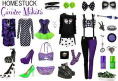 """Homestuck Fashion: Gamzee Makara"" by khainsaw on Polyvore"