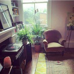 Instagram regram: Pixie Geldof living room