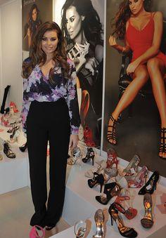 Jessica Wright Showcases Eponymous Shoe Collection at Moda 2015 Fashion Trade Exhibition
