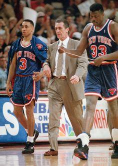 Pat Riley, Patrick Ewing & John Starks