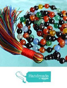 Chakra Mala Beads Necklace 9 Planets Navratan Hand Knotted - Blessed Karma Nirvana Meditation 6mm 108 Prayer Beads For Awakening Kundalini from AwakenYourKundalini https://www.amazon.com/dp/B01F7YJAT0/ref=hnd_sw_r_pi_dp_1G.hybQ6ANNZA #handmadeatamazon