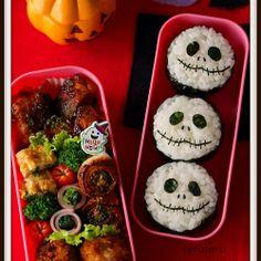 Riceball bento Kawaii Bento, Cute Bento, Bento Kids, Bento Box Lunch, Desserts Japonais, Cute Food, Yummy Food, Bento And Co, Kids Lunch For School