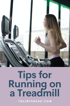 The treadmill can be a race trainer's best friend when used properly, check out these ten tips for running on a treadmill to make your workout more efficient and more enjoyable. While everyone knows how to use a treadmill to some degree, many don't realize how to get the most out of their treadmill workout or utilize it as an effective race training tool. Jogging For Beginners, Running Plan, Running For Beginners, How To Start Running, Running Tips, Treadmill Routine, Running On Treadmill, Treadmill Workouts, Race Training