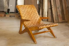 Lounge Chair by Jose Zanine Caldas for Linha Z, 1950s for sale at Pamono