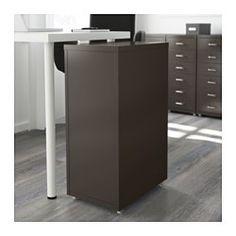 IKEA - HELMER, Skuffeelement på hjul, grå. UOL: Til papirer, rod, sokker og.... - fin i køkken, sove-/arbejdsværelse og stue